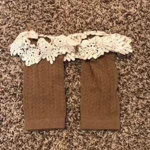 Accessories - Brown Boot Socks